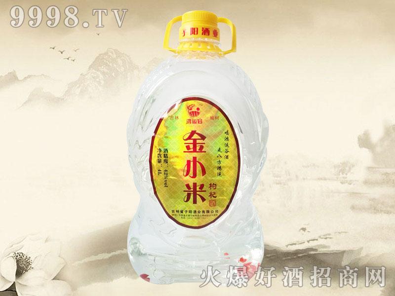 鸿运谷金小米枸杞酒4L