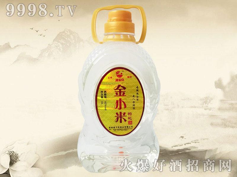 鸿运谷金小米枸杞酒1L