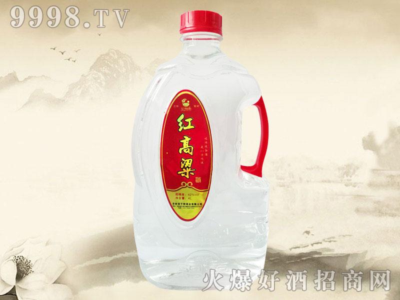 鸿运谷红高粱酒4L