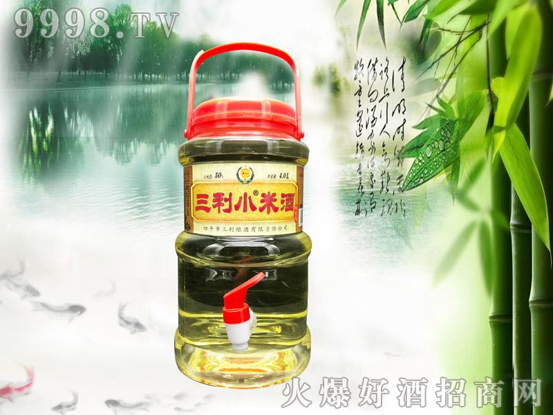 三利小米酒50度4L