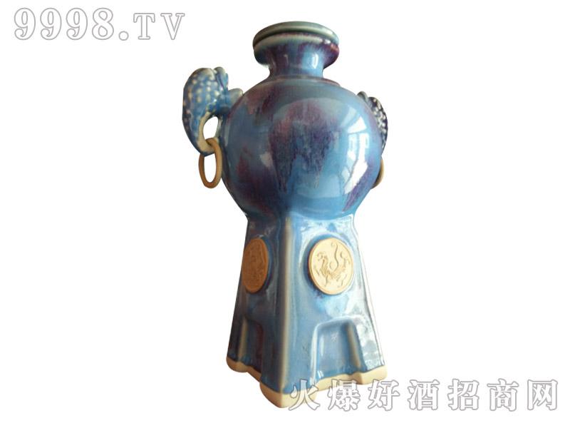 黔徽五斤坛酒・双耳(蓝)-白酒招商信息