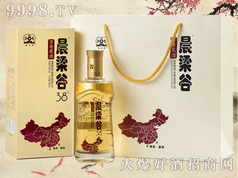 晨梁谷万寿果酒38°(礼袋)