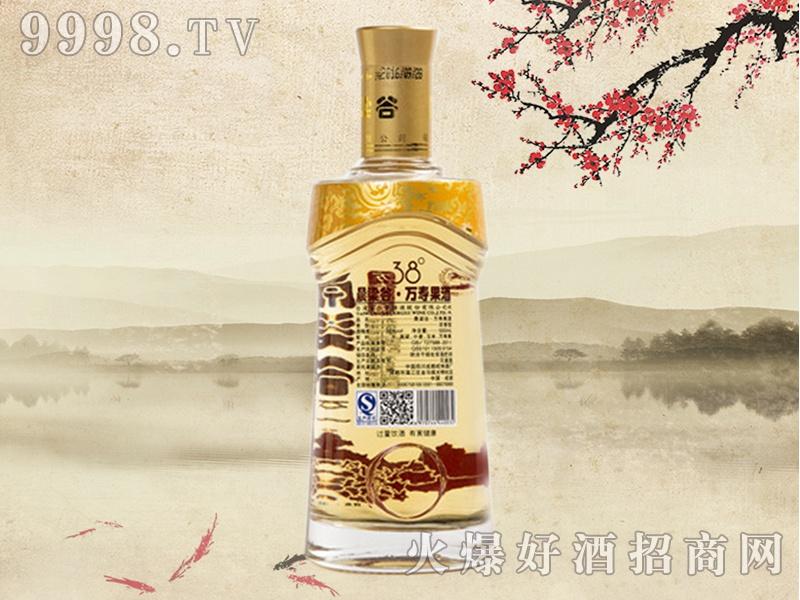 晨梁谷万寿果酒38°