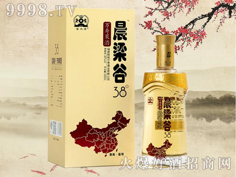 晨梁谷万寿果酒38°(盒装)
