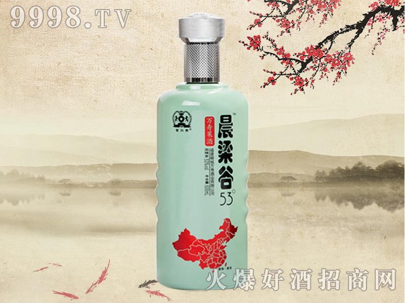 晨梁谷万寿果酒53°(瓷瓶)
