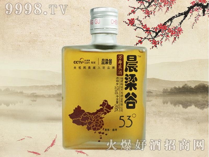 晨梁谷万寿果酒53°(方瓶)