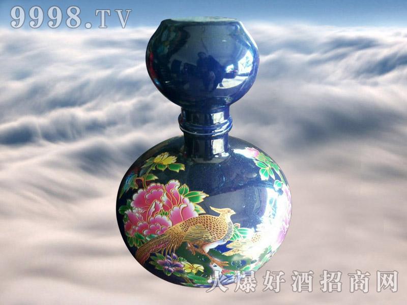 金口玉言酒蓝坛
