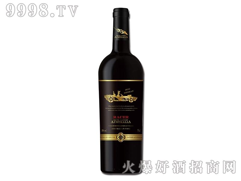 澳洲赛车手之金袋鼠西拉干红葡萄酒