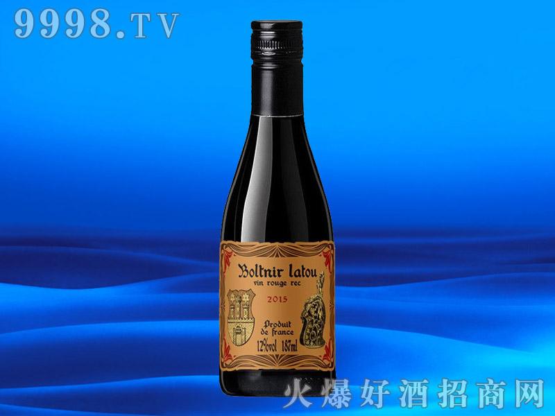 法国进口干红葡萄酒12度187ML