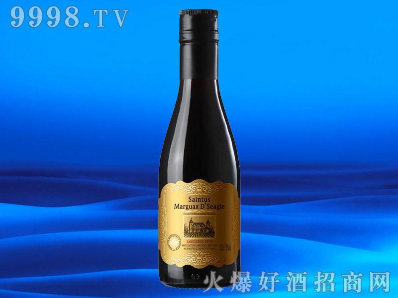 法国进口干红葡萄酒13度187ML