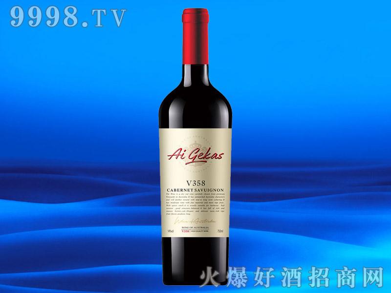 澳大利亚进口葡萄酒赤霞珠13.5度