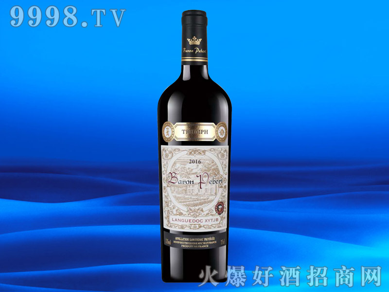 法国进口AOP葡萄酒13度750ml
