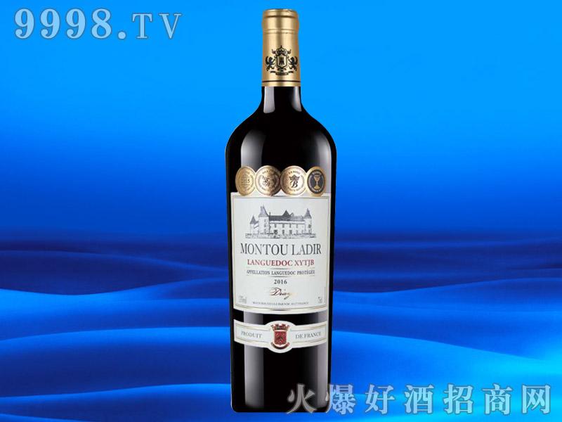法国进口葡萄酒AOP13度750ml
