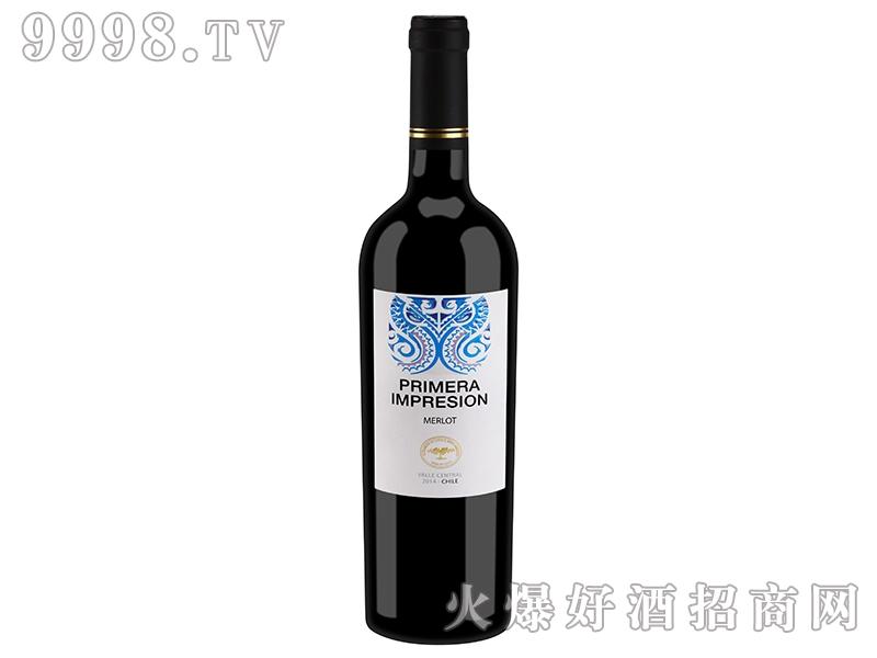 智利印象精选梅洛干红葡萄酒
