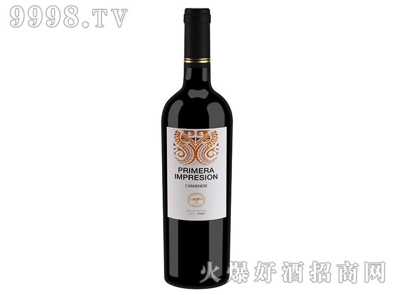 智利印象精选卡曼尼干红葡萄酒