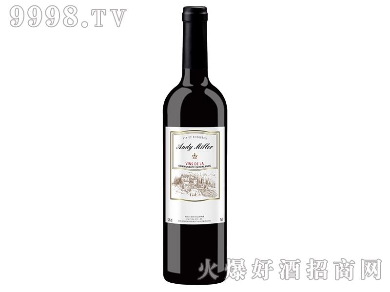 法国安迪米勒干红葡萄酒