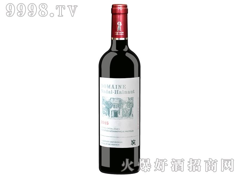 法国纳达尔-爱诺庄园赤霞珠干红葡萄酒