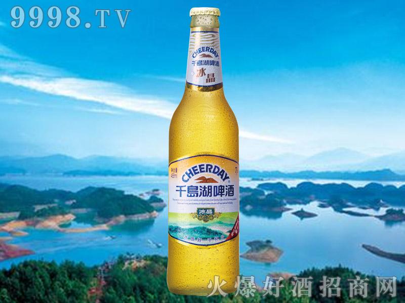 千岛湖啤酒7度488ml冰晶