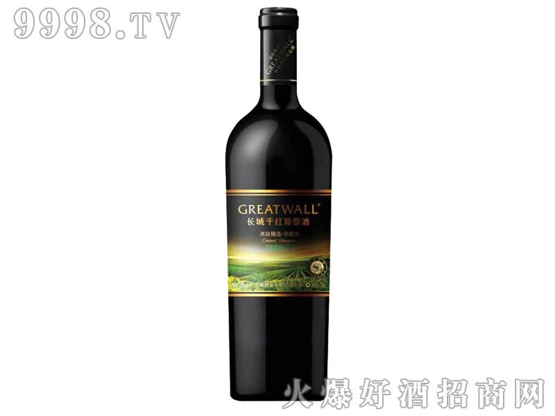 长城绿色海岸高级精选赤霞珠干红葡萄酒