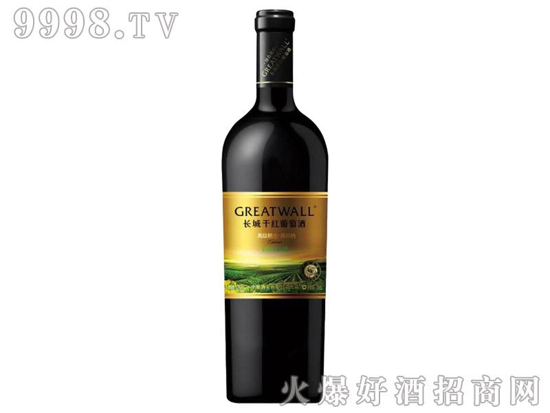 长城绿色海岸高级精选解百纳干红葡萄酒