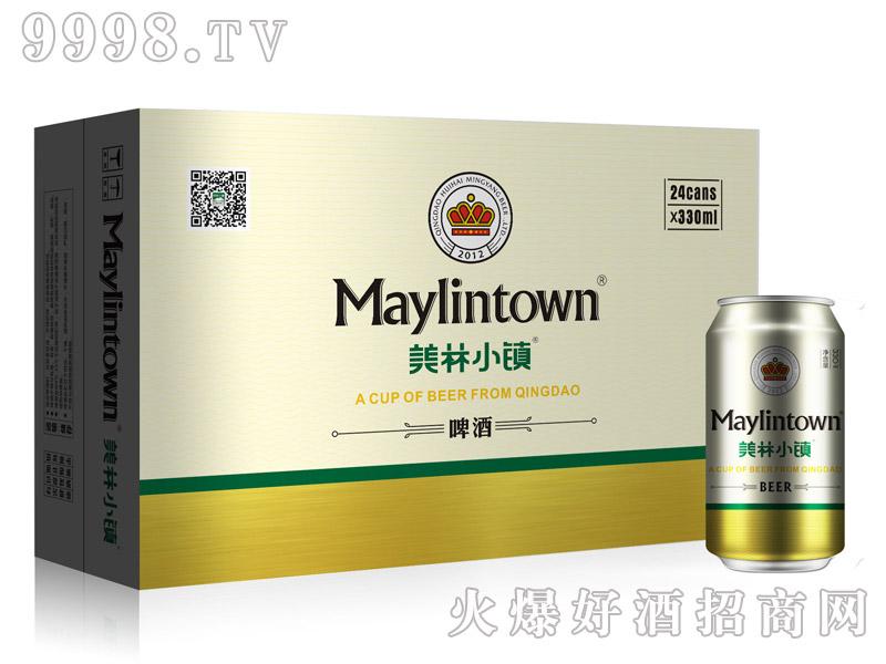 330ML美林小镇啤酒金罐