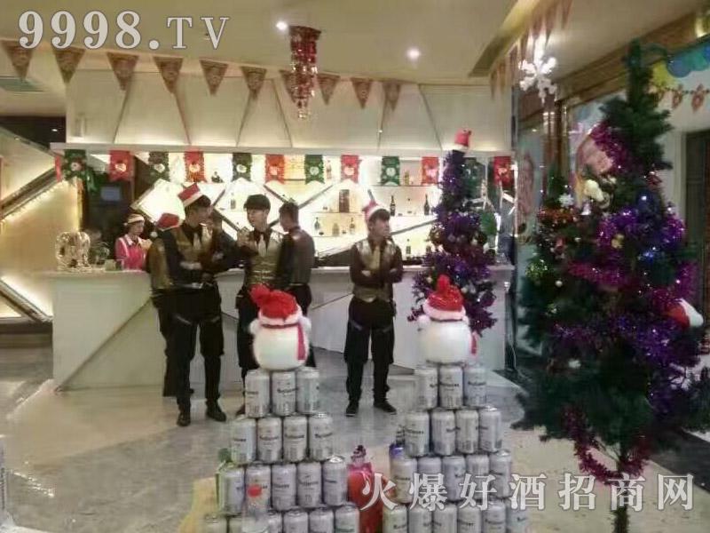 美林小镇啤酒圣诞活动-(1)