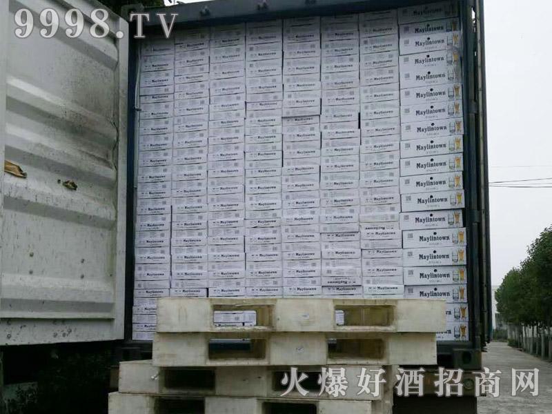 美林小镇啤酒集装箱发货-(11)