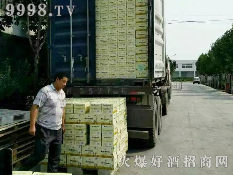 美林小镇啤酒集装箱发货-(6)
