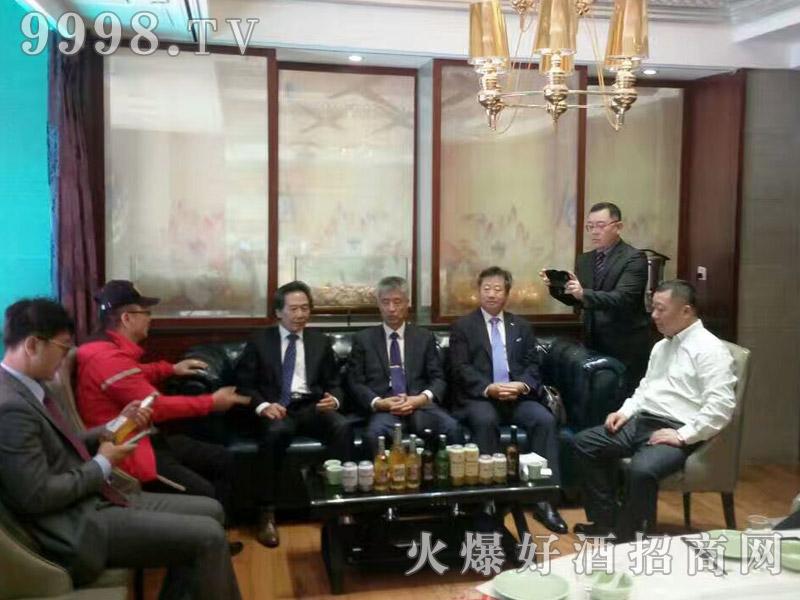 美林小镇千赢国际手机版韩国考察团·沟通