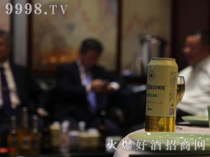 美林小镇啤酒韩国考察团・美酒展示