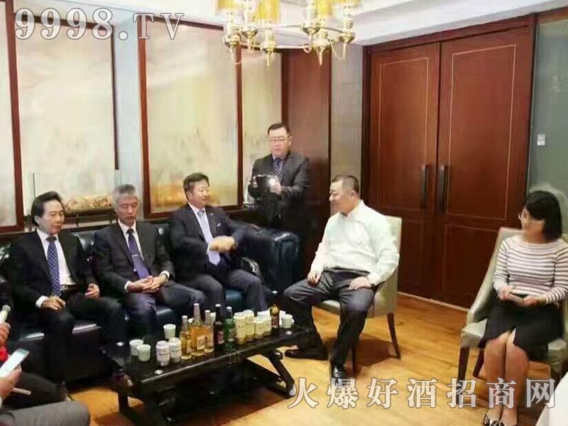 美林小镇千赢国际手机版韩国考察团·交流