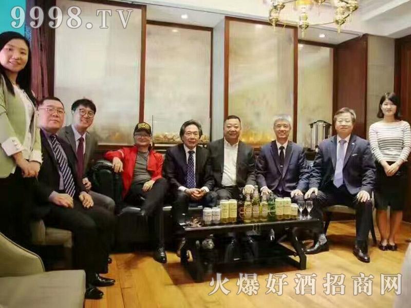 美林小镇千赢国际手机版韩国考察团·合照