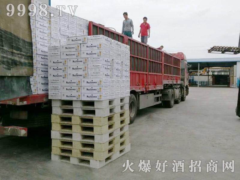 美林小镇啤酒汽车运输(5)