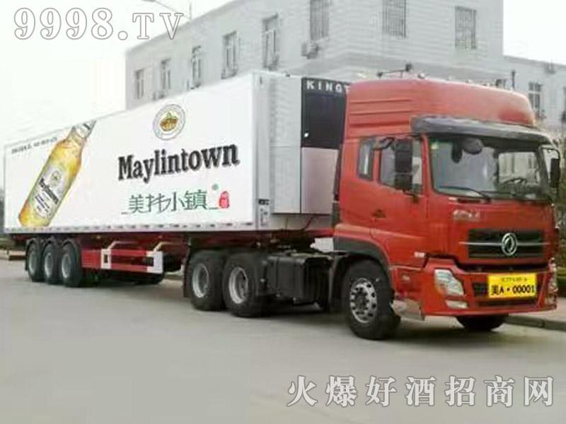 美林小镇啤酒汽车运输(4)