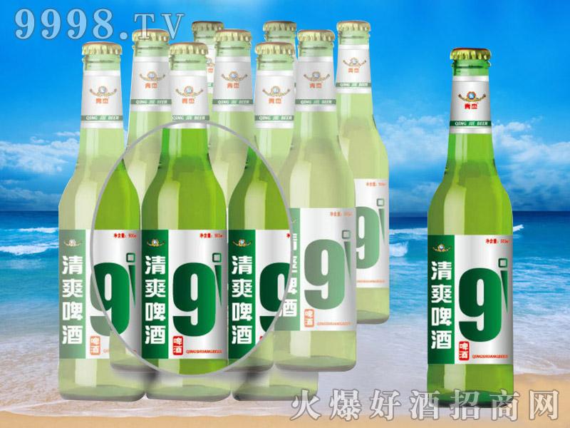 青杰啤酒清爽啤酒9度500ml