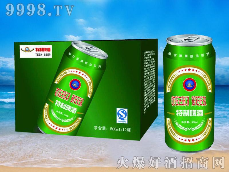 青杰啤酒罐装特制啤酒500ml×12