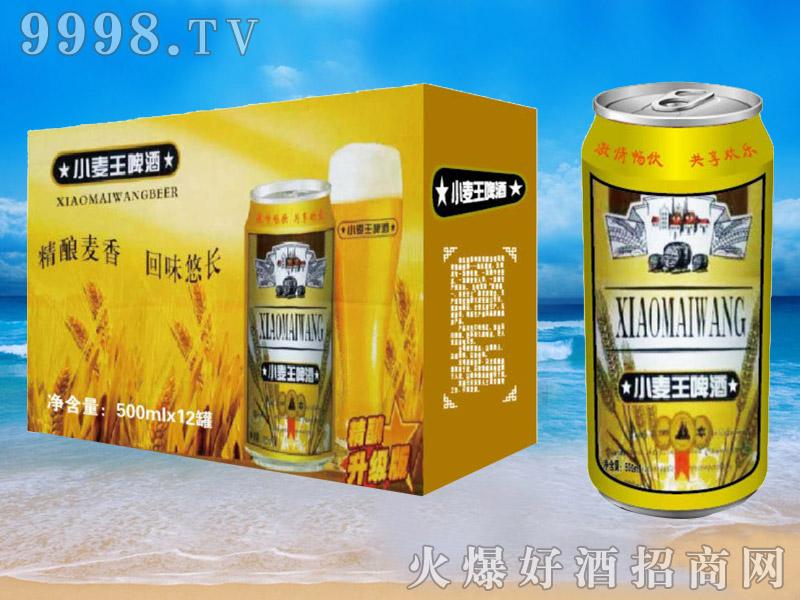 青杰啤酒罐装小麦王啤酒500ml×12
