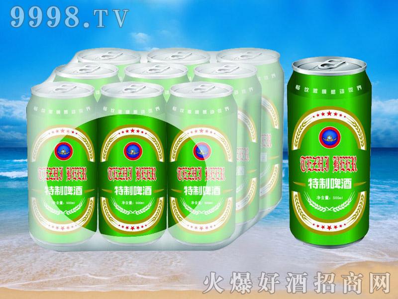 青杰啤酒罐装特制啤酒500ml