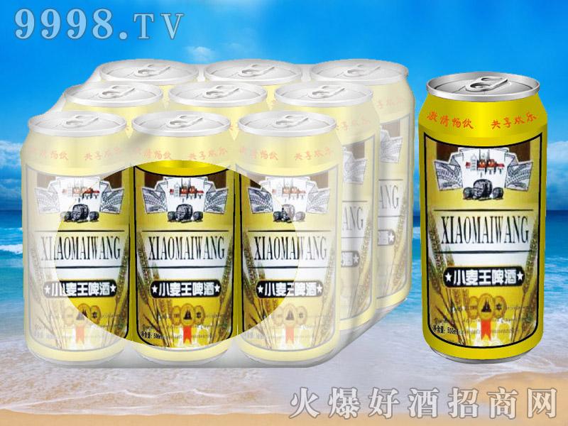 青杰啤酒罐装小麦王啤酒500ml