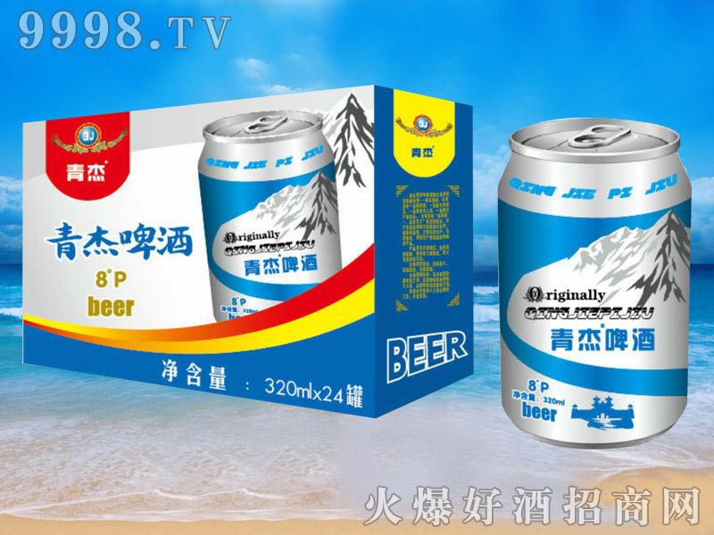 青杰啤酒罐装320ml×24
