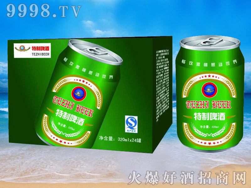 青杰啤酒罐装特制啤酒320ml×24