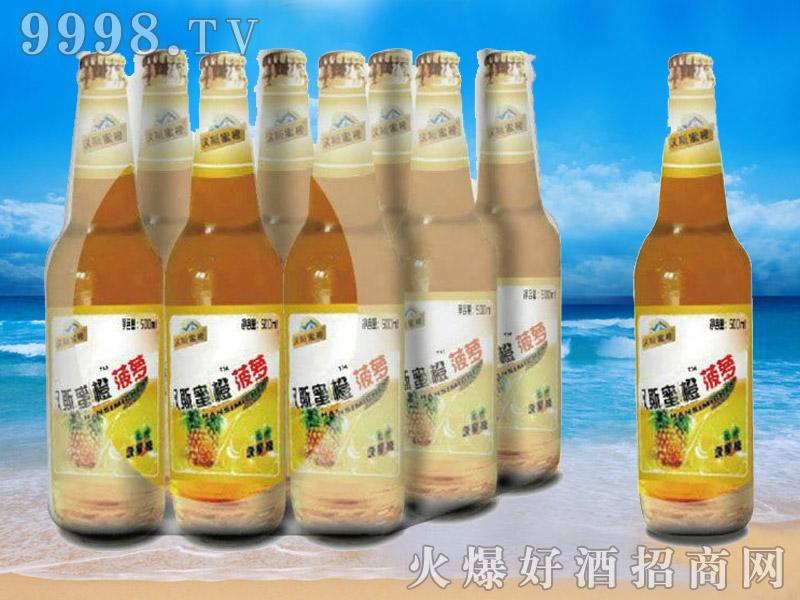 汉斯蜜橙菠萝果啤-青杰啤酒