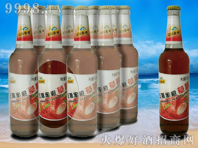 汉斯蜜橙草莓果啤-青杰啤酒