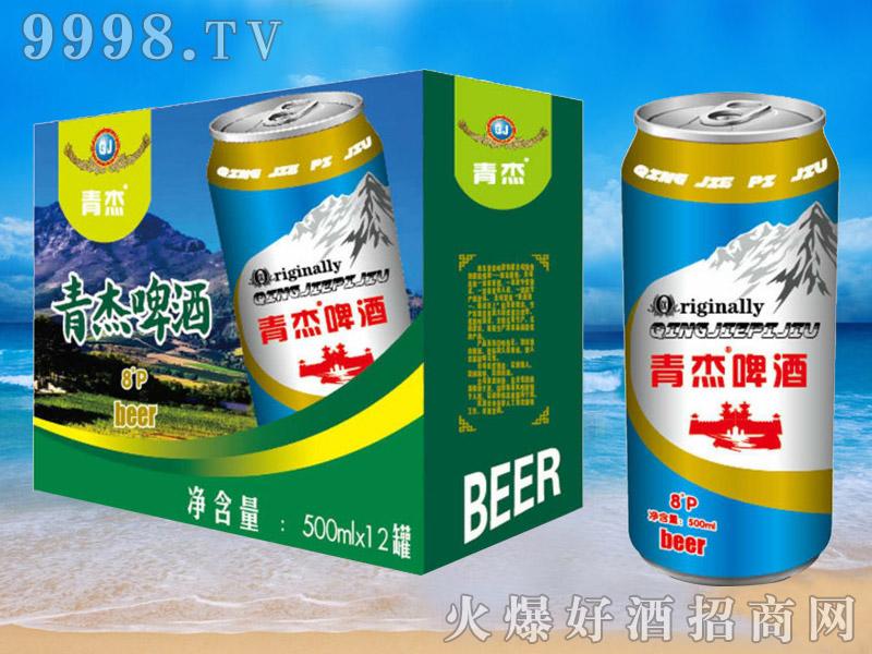 青杰啤酒罐装500ml×12