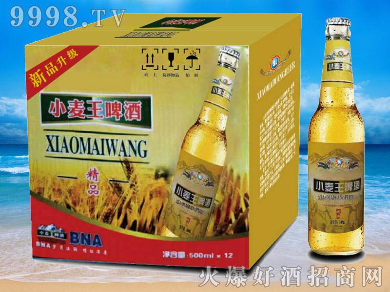 纯生啤酒小麦王啤酒500mlx12-青杰啤酒
