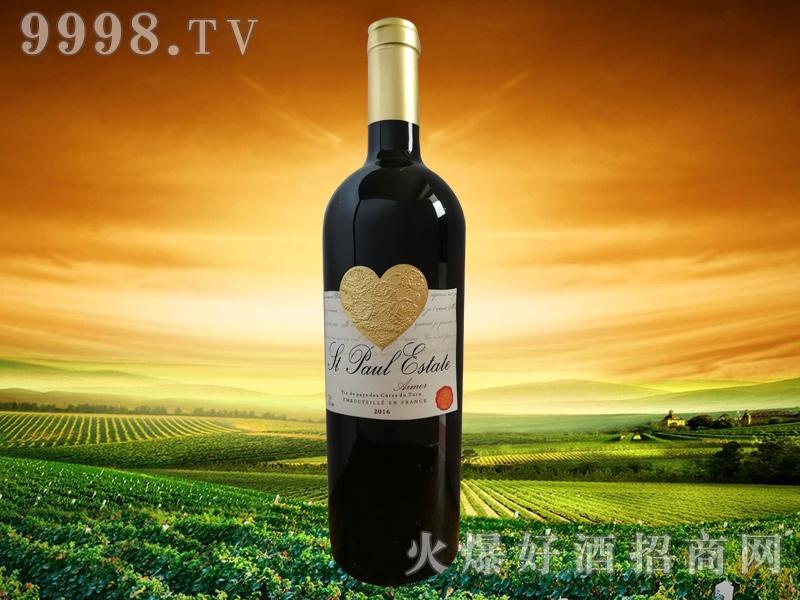 圣堡罗克庄园・挚爱干红葡萄酒-红酒招商信息