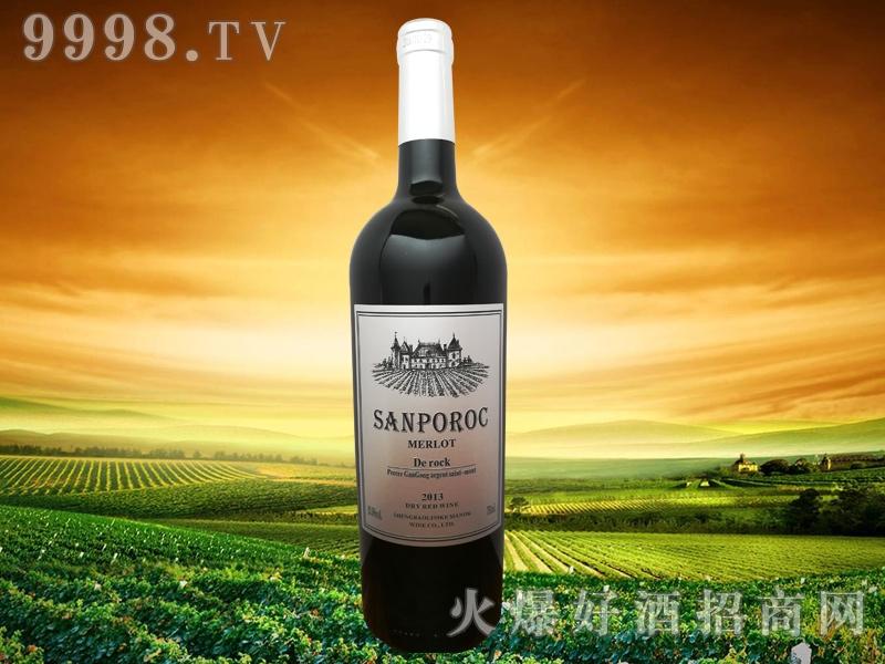 圣堡罗克庄园・银钻干红葡萄酒-红酒招商信息