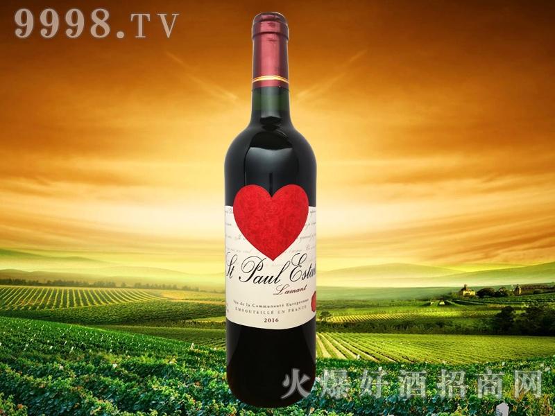 圣堡罗克庄园・情人干红葡萄酒-红酒招商信息