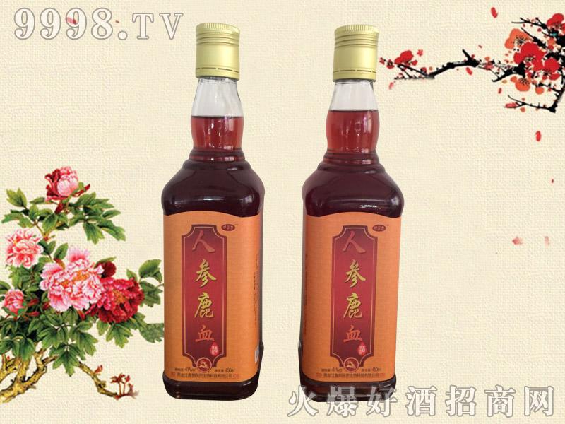人参鹿血酒41度450ml-保健酒招商信息