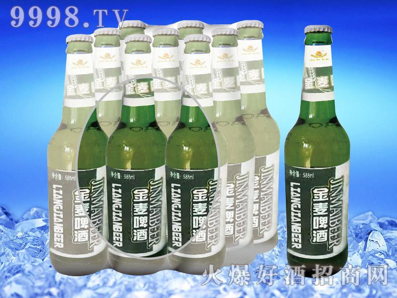 亮剑啤酒金麦啤酒500ml塑包